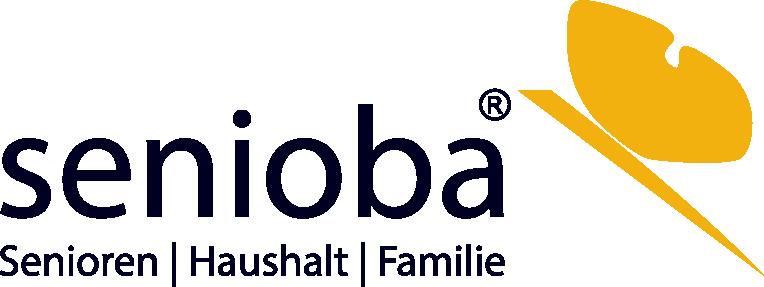 senioba Logo Betreuungskräfte 24-Stunden-Pflege Demenzbetreuung